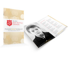 Red Kettle Dinner Event and Materials